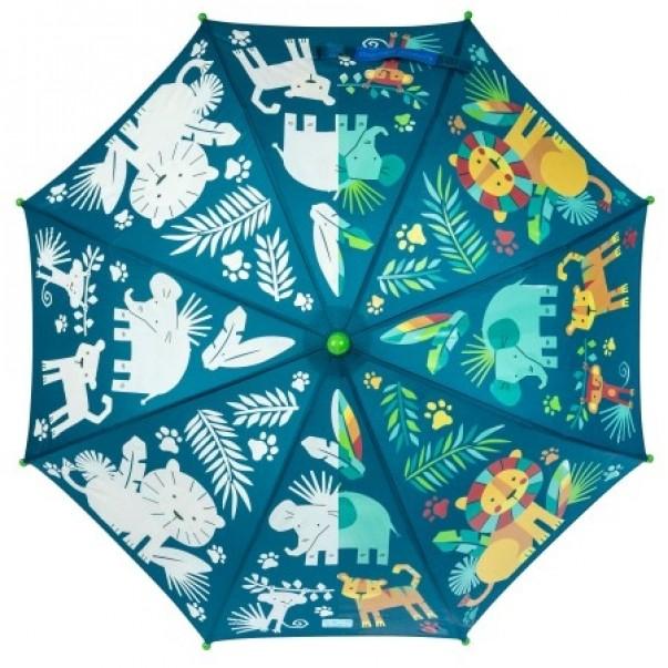 Barvno spreminjajoči dežnik ZOO
