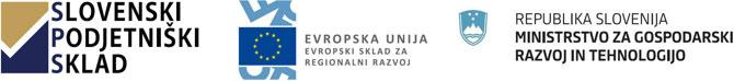 Naložbo izdelave spletne trgovine sofinancirata Republika Slovenija in Evropska unija iz Evropskega sklada za regionalni razvoj.